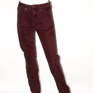 Denim Straight Leg Jeans AA